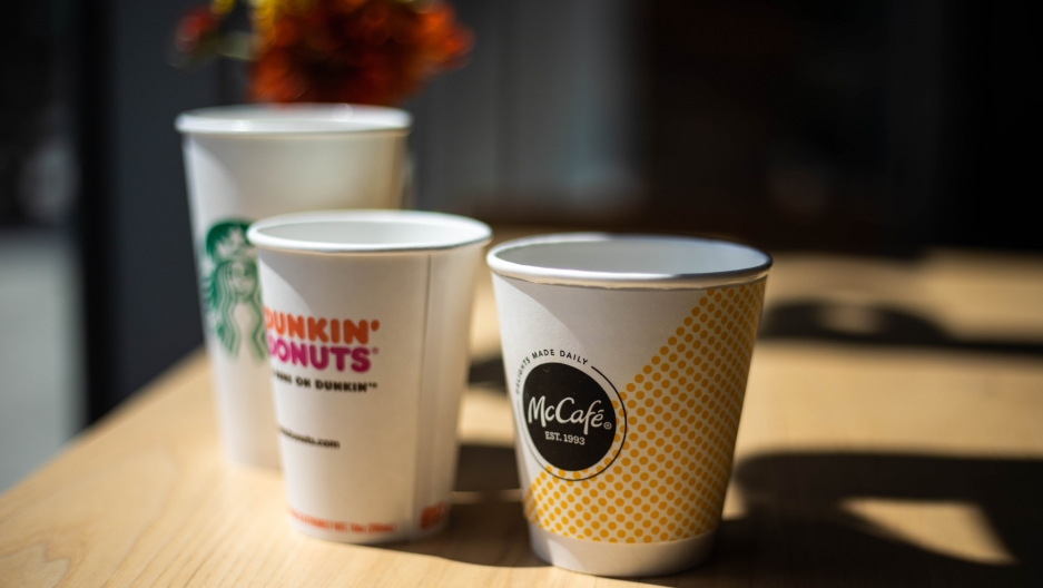 Starbucks Tries to Save 6 Billion Cups a Year from the Trash … With Help from McDonald's