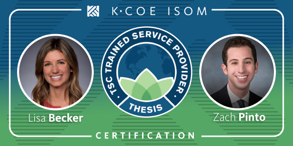 K•Coe Advisors Earn Credential to Help Food & Ag Businesses Improve Sustainability Performance and Reporting